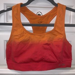 Orange/Red Ombré Champion Sports Bra